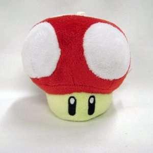 Mario Bro XS Mushroom Plush   Red Toys & Games