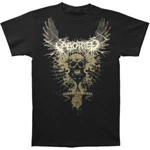 Aborted   T shirts   Band Clothing