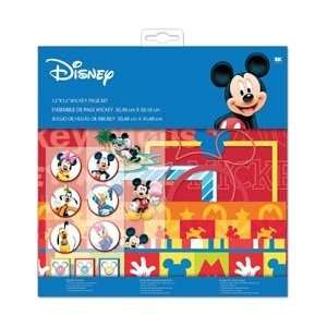 EK Success Mickey Mouse Page Kit 12X12 DMPK2; 2 Items