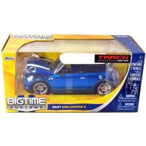 2007 Mini Cooper S 1/24 Scale BTM (Blue) Toys & Games