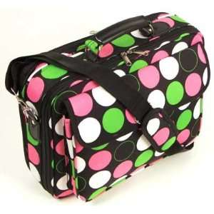 15 Black Laptop Computer Case Notebook Bag with Pink