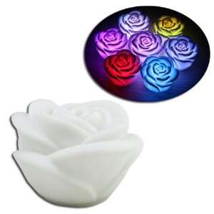 Rose Flower LED Lamp Night Light Home Decoration