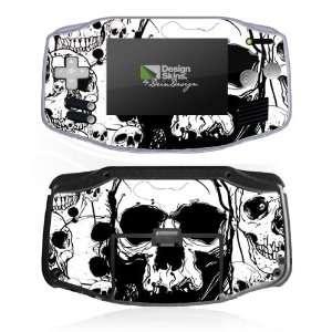 Design Skins for Nintendo Game Boy Advance   Skull Meeting