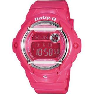 Baby G Pink Collection Pink Digital Dial Womens Watch