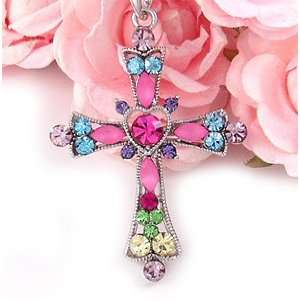 Cross Fashion Pendant Necklace Jewelry n282 Everything