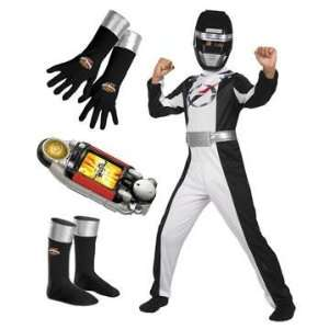 Power Rangers Operation Overdrive Black Costume (Large)  Toys & Games