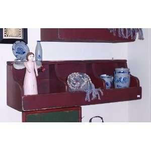 Handmade Primitive Cottage Coop Style Shelf
