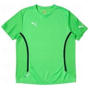 Puma Mens V.11 Speed T Shirt Fluro Green/Navy/Medium