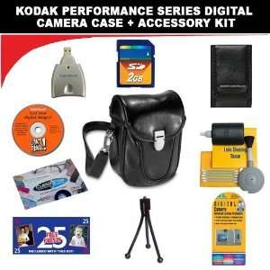 Digital Camera Case + Deluxe DB ROTH Accessory Kit