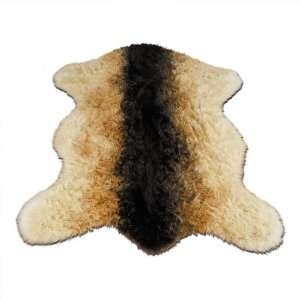 Goat Pelt  Goat Collection  Faux Fur Rug  3 foot X 5 foot
