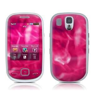 Pink Plasma Design Protective Skin Decal Sticker for Samsung