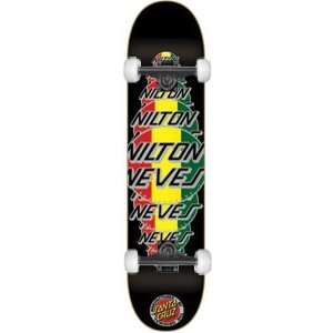 Santa Cruz Neves Logo Complete Skateboard   7.7 w/Essential Trucks