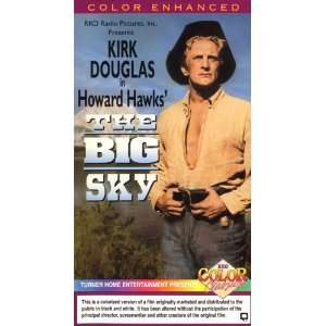 The Big Sky (Colorized) [VHS]: Kirk Douglas: Movies & TV