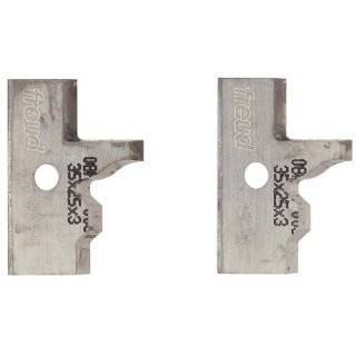 Knife Rail And Stile Shaper Cutter Heads, 1 1/4 Bore: Home Improvement