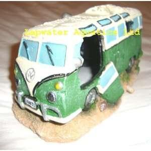 Green VW Camper Van Pet Supplies