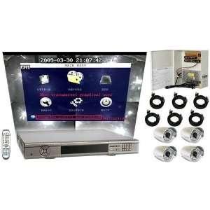 8 Channel Pentaplex Standalone DVR Package/Surveillance System