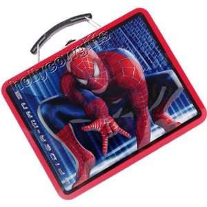 Spiderman 3 Tin Lunch Box Bag Toys & Games