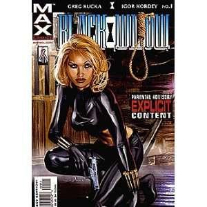 Black Widow Pale Little Spider (2002 series) #1 Marvel