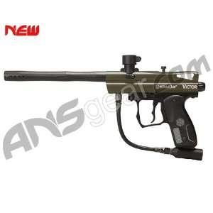 2012 Kingman Spyder Victor Semi Auto Paintball Gun   Olive