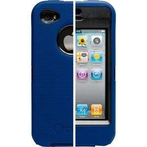 New OtterBox Defender Series Apple iPhone 4G Blue/Black
