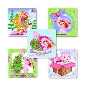 Strawberry Shortcake Christmas Holiday Stickers (25)