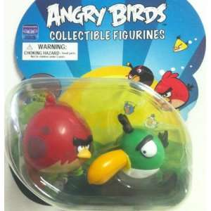 Angry Birds Collectible Figurines 2 pack Red Big Brother