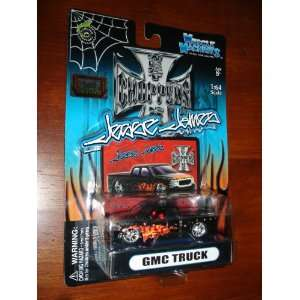 West Coast Choppers Pickup Truck Black with Flames Toys & Games