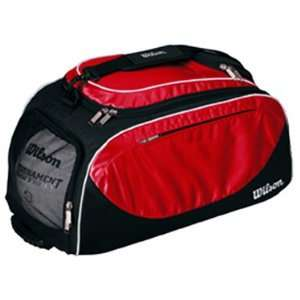 Wilson Volleyball Player Travel Bag/Backpacks BLACK/RED 23