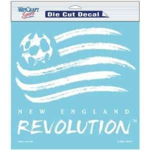 Wincraft New England Revolution Die Cut Decal Sports