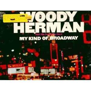 my kind of broadway LP WOODY HERMAN Music