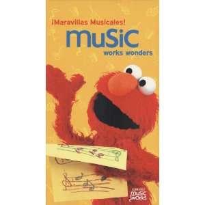 Maravillas Musicales MUSIC WORKS WONDERS Sesame Street