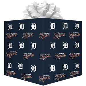 MLB Detroit Tigers Wrapping Paper