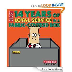 14 Years of Loyal Service in a Fabric Covered Box A Dilbert Book