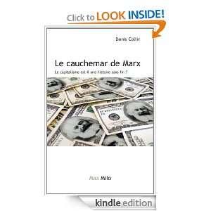 Marx   le capitalisme est il une histoire sans fin ? (French Edition