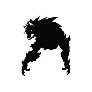 Werewolf Reborn   Tribal Decal Vinyl Car Wall Laptop Cellphone Sticker
