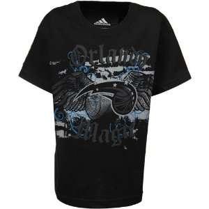 adidas Orlando Magic Youth Black Glory Wings T shirt