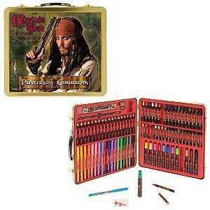 Pirates of the Carribean Dead Mans Chest 88 Piece Art Kit