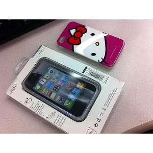 Smile Case Hello Kitty Premium Red Hard case Full Cover Case for AT&T
