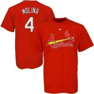 Yadier Molina St. Louis Cardinals Youth Name and Number T