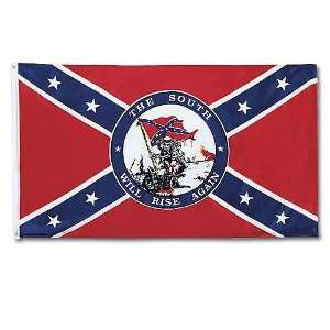 Confederate Flag   South Will Rise Again  Sports