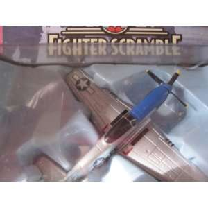 Corgi P 51D Mustang Cripes a Mighty Fighter Scramble Series with