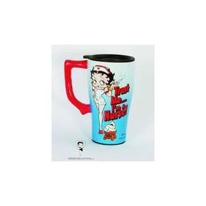 Nurse Betty Boop Coffee Latte Tea Travel Mug  Home