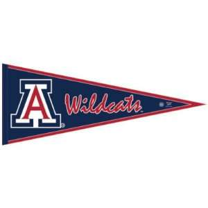 ARIZONA WILDCATS OFFICIAL LOGO PENNANT BUTTON BUMPER