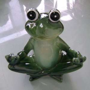 FROG YOGA SITTING ZEN POSITION:  Home & Kitchen