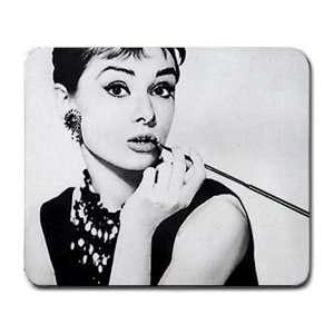 Audrey Hepburn Large Mousepad mouse pad Great Gift Idea