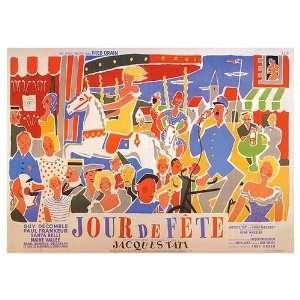Jour de Fete Movie Poster, 27.5 x 19.7 (1949): Home