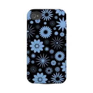 Floral Pattern Design Case Mate iPhone 4 Iphone 4 Tough Cases from