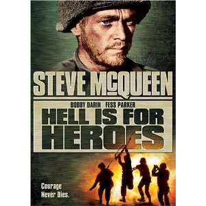 Hell is for Heroes Steve McQueen, Bobby Darin, Fess