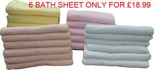JUMBO COTTON BATH SHEETS SUPER SOFT TOWELS AVAILABLE IN 4 COLOUR