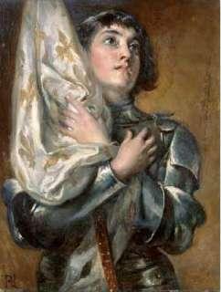 Joan of Arc Poster by Robert Alexander Hillingford at Barewalls